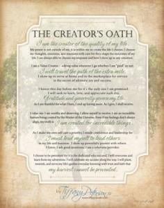 The Creator's Oath